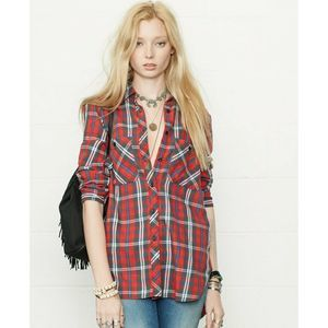 Ralph Lauren Denim & Supply Utility Flannel Shirt